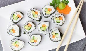 Sushi na telefon